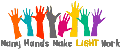 Many Hands Make Light Work Motto Vision